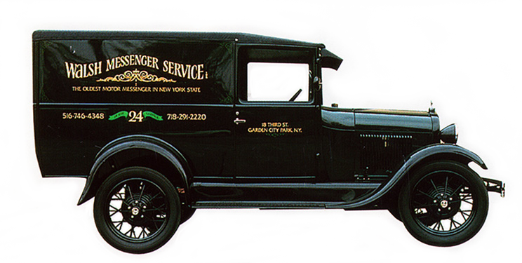 Original Walsh Messager Car