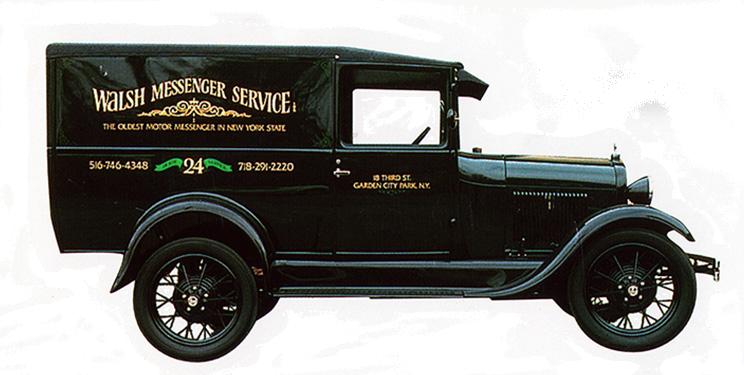 Original Walsh Messager Car
